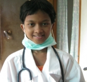 Jannat wants to be a doctor one day!